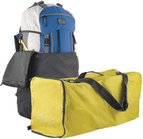 Active Leisure gele flightbag voor backpack 55 tot 80 liter